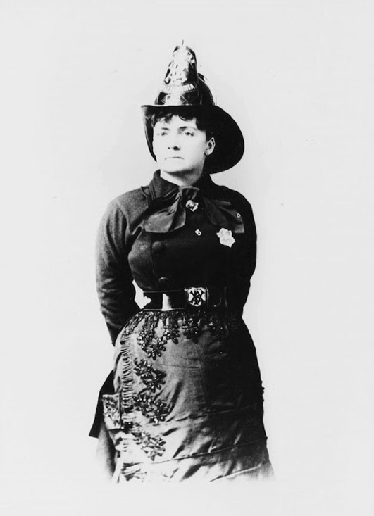 Lillie Hitchcock Coit, America's first female firefighter.